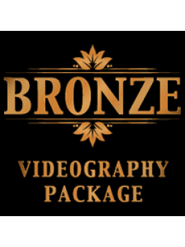 Bronze Wedding Videography Package